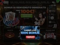 888.it casino gioco poker blackjack slot roulette machine