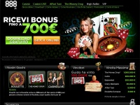 888casino.it casino gioco poker blackjack slot roulette machine