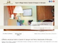 Hotel per vacanze nel Parco Nazionale a Castel di Sangro in Abruzzo