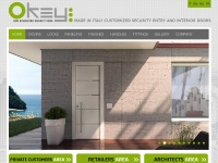 Okeyporte.com - Made in Italy Customized Security Entry and Interior Doors