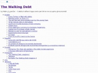 The Walking Debt | by Maitre_à_panZer – Il debito è affare troppo serio perché se ne occupino gli economisti