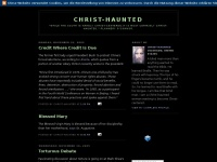 Christ-haunted.blogspot.de - Christ-Haunted