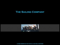 The Sailing Company landing page
