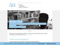 STUDIO AKOE' - Studio di ricerche ed interventi di Psicosocioanalisi / Psicoterapia e Psicoanalisi diretto da Carla Weber