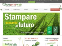 Stampa ecologica online | Ecoprintweb