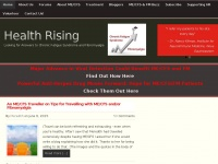 Cortjohnson.org - Health Rising - Looking for Answers to Chronic Fatigue Syndrome and Fibromyalgia