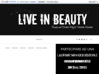 Live In Beauty | IT Makeup and Beauty Blog