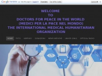 WELCOME TO DOCTORS FOR PEACE IN THE WORLD (MEDICI PER LA PACE NEL MONDO)the international medical humanitarian organization - Home