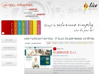 simply, internet- semplicemente, il tuo business online