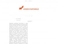 LESSICO NATURALE - LESSICO NATURALE