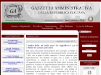 gazzettaamministrativa.it documento titolo