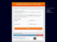 THE GREAT DOMAIN 5420.CO IS FOR SALE
