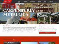 Home - DGL snc di Di Marco Giuseppe - Carpenteria Metallica - Cellino Attanasio - Teramo