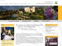 I Giardini di Castel Trauttmansdorff a Merano
