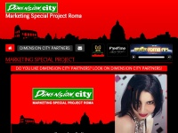 Dimension City - Marketing Special Project Roma