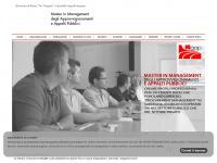 Home - Master in Management degli Approvviggionamenti e Appalti Pubblici