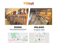 Home Page - Play! - Negozio Strumenti Musicali Roma