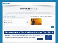 Gogolf.it - GoGolf: informazioni e servizi dal 1999