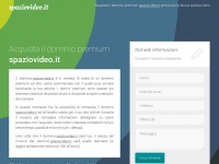 Spaziovideo.it - dominio premium in vendita