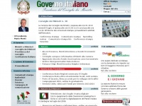 governo.it europa euro italiano english