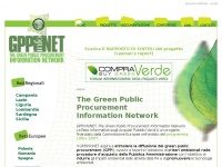 Gppinfonet.it - GPPinfoNET - The Green Public Procurement Information Network