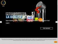 Contenitori Metallici per Alimenti MecaPackaging lavorazione Banda Stagnata Packaging industry