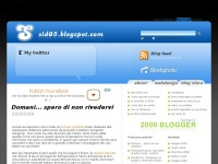 Sid05 web log: di blog, internet e webdesign