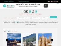 Okbedandbreakfast.de - OkBedandBreakfast portale bed and breakfast