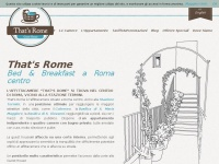 Bed & Breakfast Roma   That's Rome b&b   Bed & Breakfast Roma centro