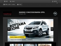 Homepage concessionaria Opel Marino, Modugno, Bari