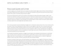 Hotelcaliforniacarloforte.it - Hotel California Carloforte