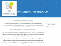 Lotics.eu - Lotics Communication – National and international business consulting