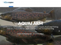 Aquafarm - Mostra convegno per l'acquacoltura e l'industria della pesca sostenibile Aquafarm