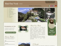Hotel Oasi Verde *** - Prestine - Passo Crocedomini - Brescia