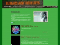 Humans and their lives
