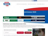 Codici Bonus Scommesse Senza Deposito - Bookmakers AAMS