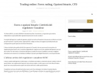 Trading online: Forex rading, Opzioni binarie, CFD – Guadagnare con il trading online!