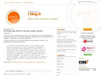 I blog it ? About Life, Experiences and New Ideas