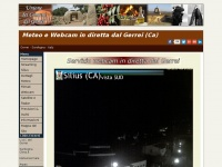 Meteo e Webcam in diretta dal Gerrei (Ca) - Sardegna