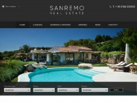 Agenzia Immobiliare a Sanremo, Italia -