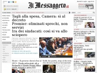 ilmessaggero.it non politica numero