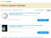Coupon e Sconti Gearbest