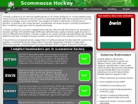 Scommesse Hockey | Bookmakers che Offrono Scommesse Hockey