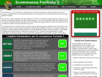 Scommesse Formula 1 | Bookmakers che Offrono Scommesse Formula 1