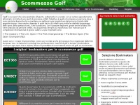 Scommesse Golf | Bookmakers che Offrono Scommesse sul Golf