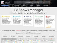 TV Shows Manager - Home