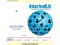 INTERINALI .IT - Le Agenzie Interinali