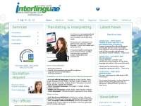 Interlinguae: Certified translation and interpreting services, technical, legal and scientific translations