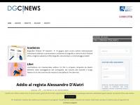 dgCinews – Periodico di informazione e cultura cinematografica in rete della Direzione Generale Cinema, di proprietà di Istituto Luce Cinecittà con notizie sui principali appuntamenti che vedono protagonista il cinema italiano e segnalazioni di scadenze riguardanti bandi, concorsi e festival