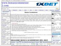 Migliori bonus scommesse di benvenuto: Marzo 2018